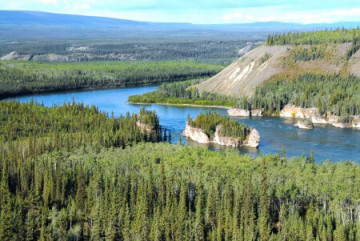 Five Finger Rapids in Yukon ©Government of Yukon