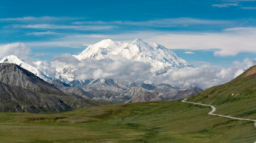 Mount McKinley im Denali Nationalpark