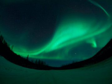 Aurora, Nordlichter in Fairbanks