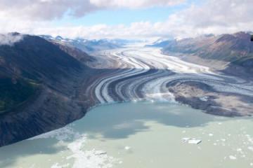 Kaskawulsg Gletscher im Kluane Nationalpark, Yukon
