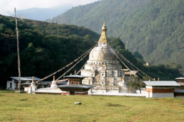 Chendebji Chorten Tempel