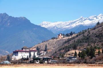 Ringpung Dzong Kloster in Paro