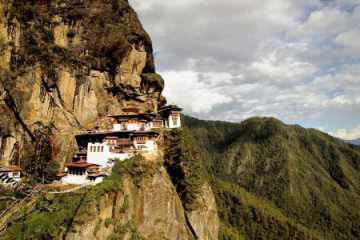 Taksang Dzong Kloster, Tiger Nest in Paro