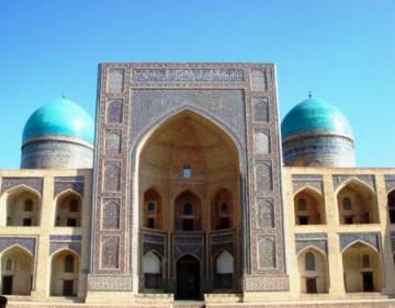 Ulugbek Medrese in Buchara, Uzbekistan