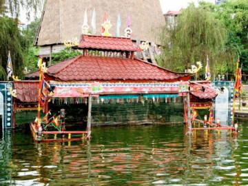 Wasserpuppentheater in Hanoi