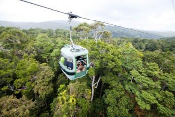 Kuranda Skyrail ©Tourism and Events Queensland