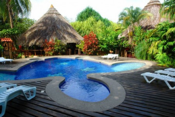 Turtle Beach Lodge im Tortuguero Nationalpark