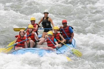 Turrialba Raftigtour auf dem Pejibaye Fluss