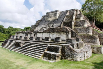 Maya-Stätte Altun Ha in Belize