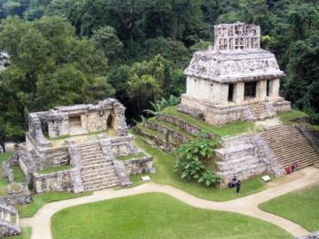 Maya-Stätte Palenque in Mexiko