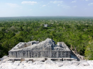Calakmul in Campeche Mexiko