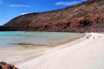 Insel Espiritu Santo im Mar de Cortez bei La Paz