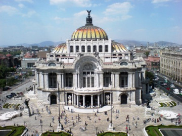 Mexico City Palacio des Bellas Artes