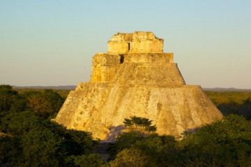 Maya Staette Uxmal - Halbinsel Yucatan
