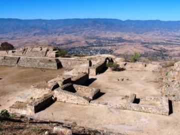 Archäologische Stätte Monte Alban bei Oaxaca
