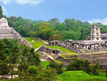 Maya-Stadt Palenque in Chiapas