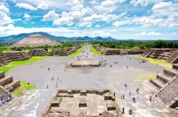 Teotihuacan Pyramiden