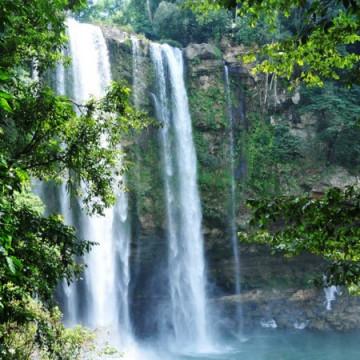 Misol Ha Wasserfall in Chiapas