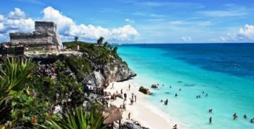 Maya Stätte Tulum auf Yucatan