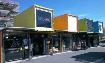 Container-Einkaufszentrum in Christchurch ©Meso Reisen by S. Keller