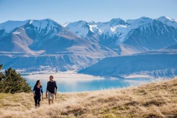 Mount Cook und Lake Tekapo ©TNZ by Miles Holden
