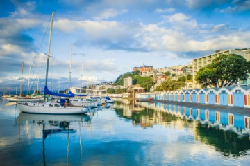 Wellington Hafen ©Positively Wellington Tourism