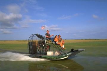 Airboot in den Everglades
