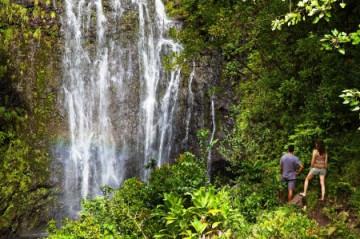 Hana Wailua Wasserfälle auf Maui ©HTA Tor Johnson