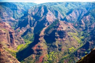 Waimea Canyon auf Kauai, Hawaii ©HTA by Tor Johnson