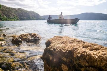 Tansania Reise Lake Chala