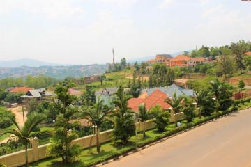 Kigali Ruanda Landschaft