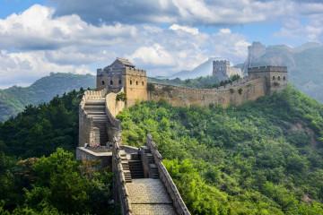 China Reise: Chinesische Mauer