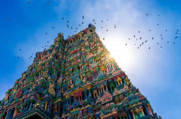 Indien Reise: Meenakshi Tempel