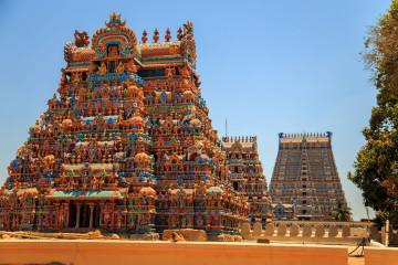 Indien Reise: Tempel Sri Ranganathaswamy