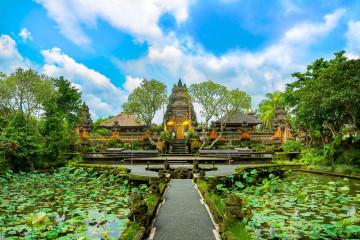 Reise Indonesien: Pura Taman Saraswati Tempel