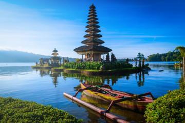 Indonesien Reise: Pura Ulun Danu Bratan Tempel- Bali
