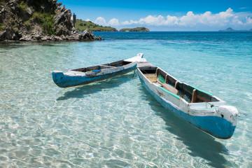 Reise Indonesien: Bidadari Island