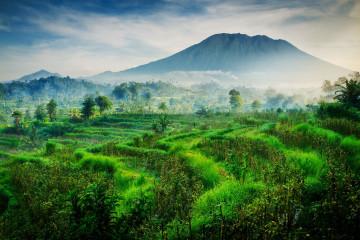 Reise Indonesien: Vulkan Agung auf Bali