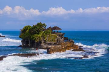Indonesien Reise: Pura Tanah Lot Tempel - Bali