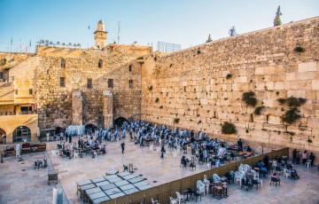 Israel Jordanien Reise - Klagemauer Jerusalem
