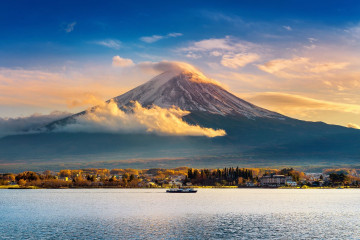 Japan Rundreise: Mount Fuji