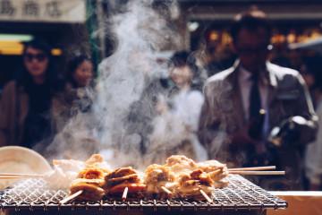 japan streetfood grill