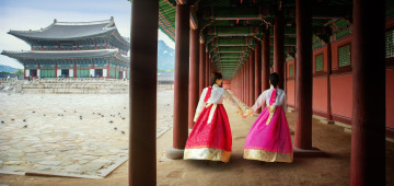 Südkorea Reise: Tradition - Gyeongbokgung Palace in Seoul