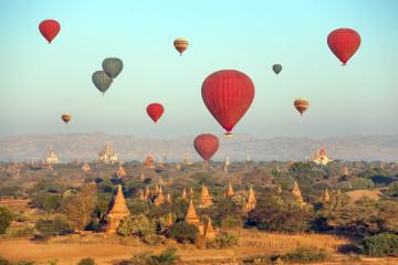 Myanmar Rundreise: Tempel in Bagan