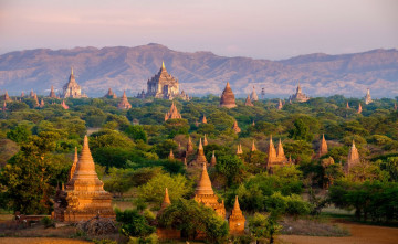 Myanmar Reise - Tempelanlage Bagan