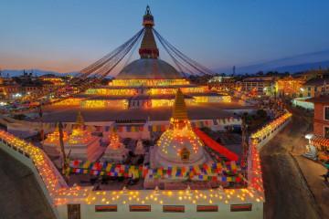 Reise Nepal - Kathmandu Stadt