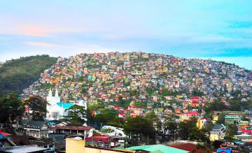 Baguio City auf Luzon Island der Philippinen