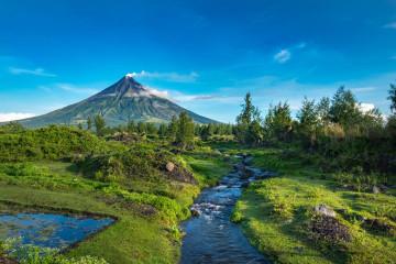 Philippinen Urlaub: Vulkan Mayon