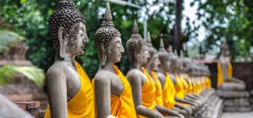 Reise Thailand: Wat Yai Chai Mongkon in Ayutthaya
