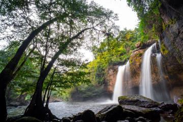 Thailand Reise: Khao Yai Nationalpark - Wasserfall Haew Suwat